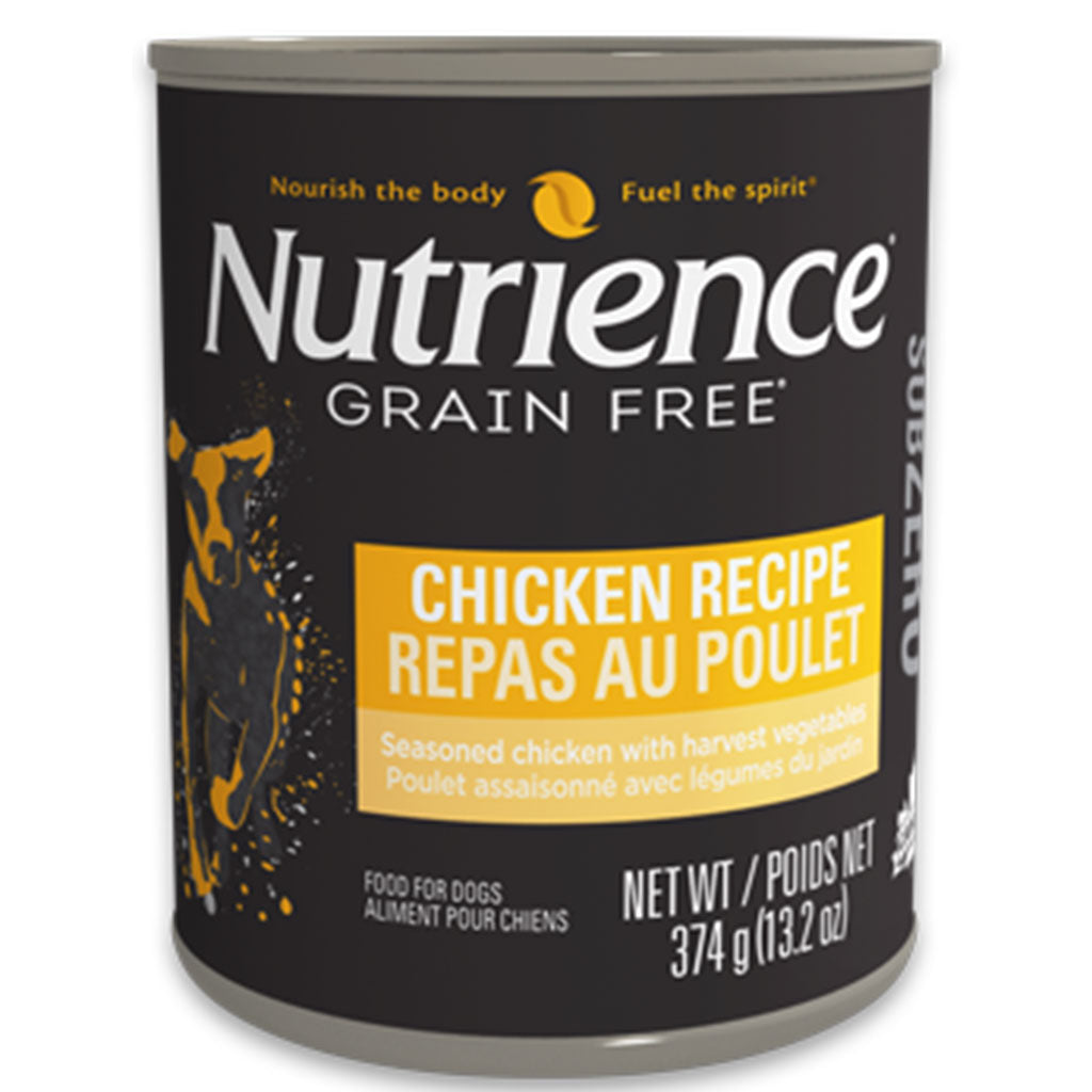 30% OFF: Nutrience® SubZero Chicken Grain-Free Canned Dog Food 374g