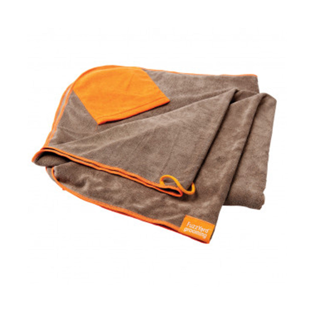 FuzzYard® Microfibre Drying Towel with Hand Pockets