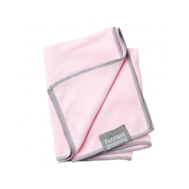 10% OFF: FuzzYard® Microfibre Drying Towel for Puppies (Pink)