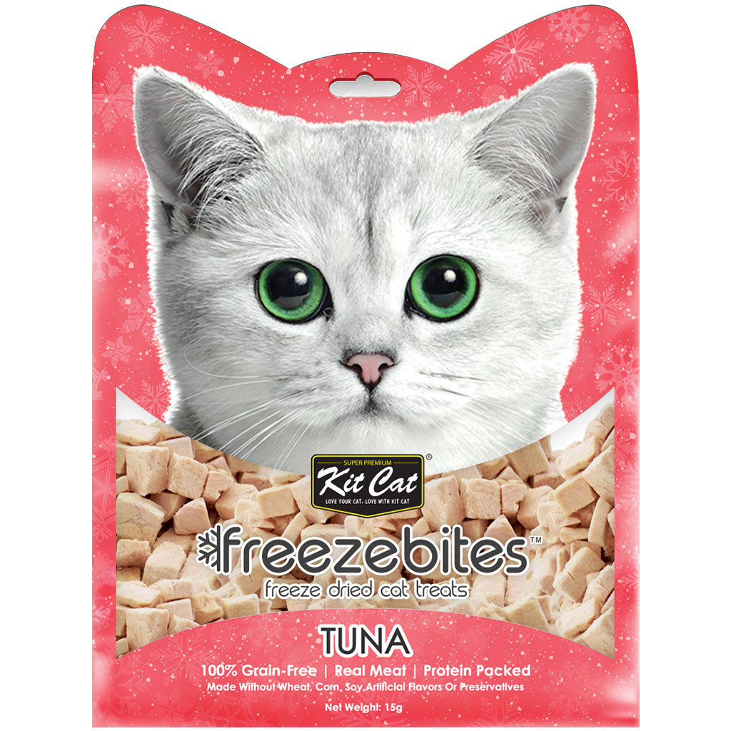 3 FOR $10 [SAVER]: Kit Cat® Freeze Bites Cat Treats - Tuna (15g)
