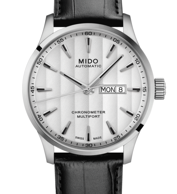 MIDO MULTIFORT CHRONOMETER 美度先鋒系列 M0384311603100