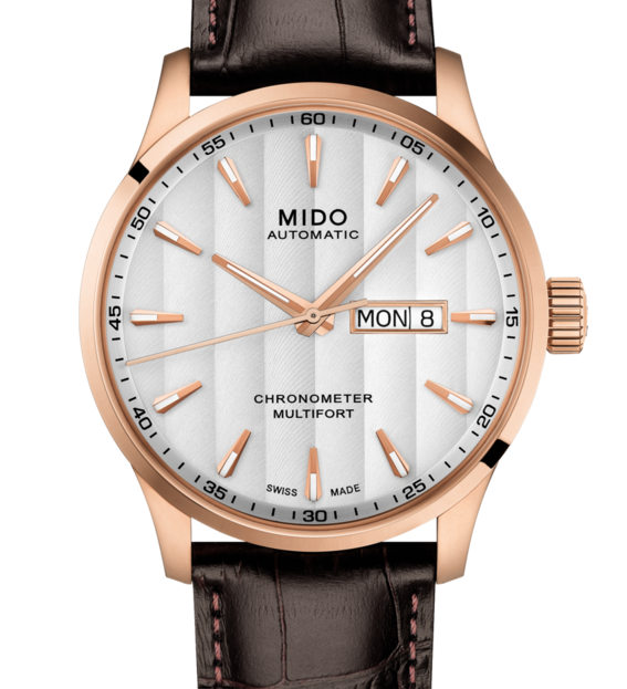 MIDO MULTIFORT CHRONOMETER 美度先鋒系列 M0384313603100