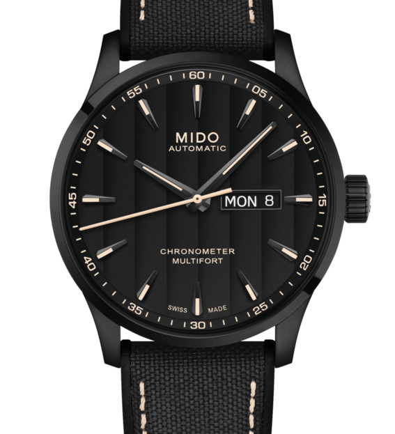 MIDO MULTIFORT CHRONOMETER 美度先鋒系列 M0384313705100