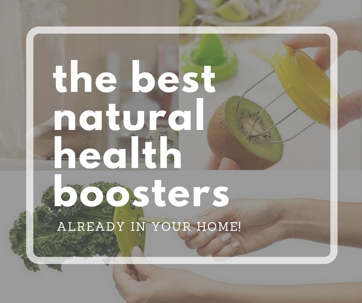 The Best Natural Health Boosters May Already Be In Your Home