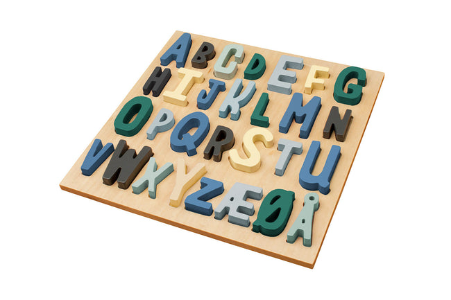 ABC Wooden Puzzle | Maggie & Rose at Home