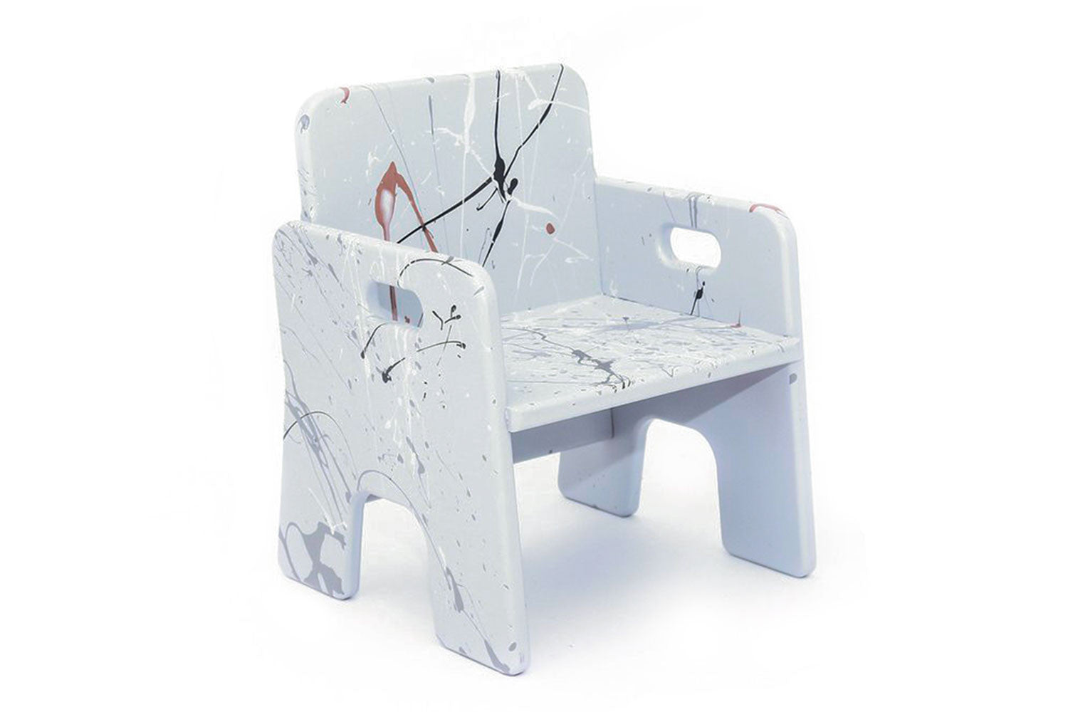 The Mini Chair in Grey Splat