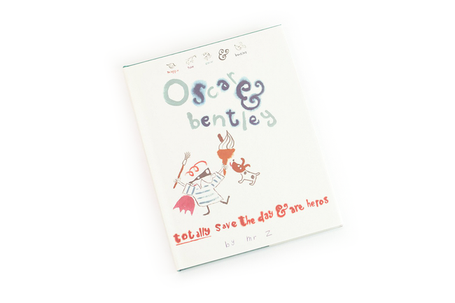Oscar and Bentley Totally Save the Day: A Maggie & Rose Book