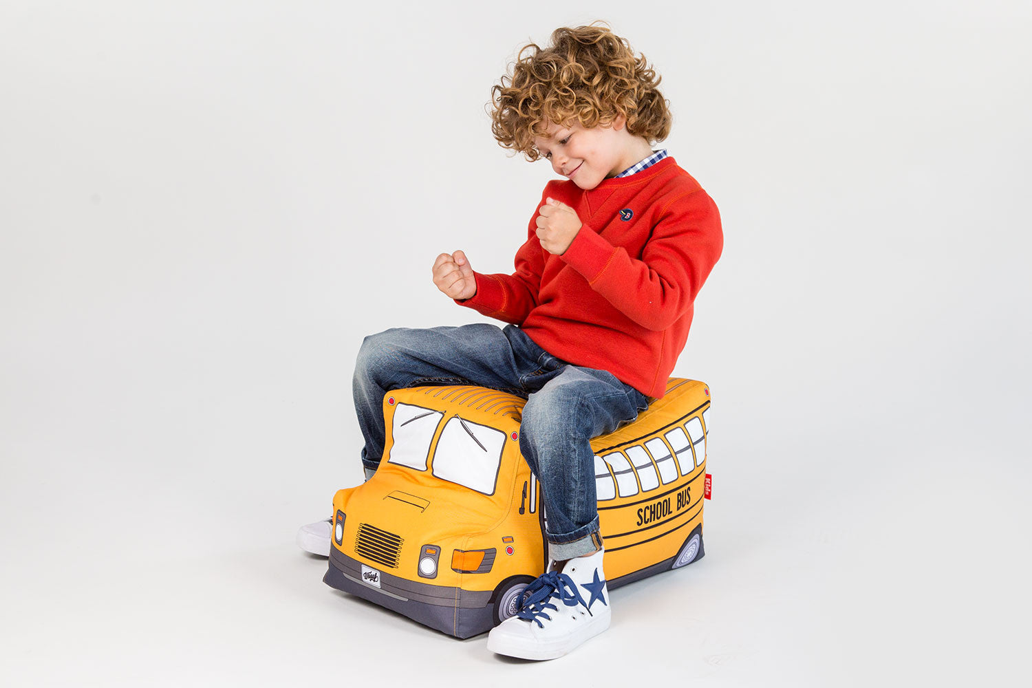 Woouf School Bus Beanbag | Maggie & Rose at Home