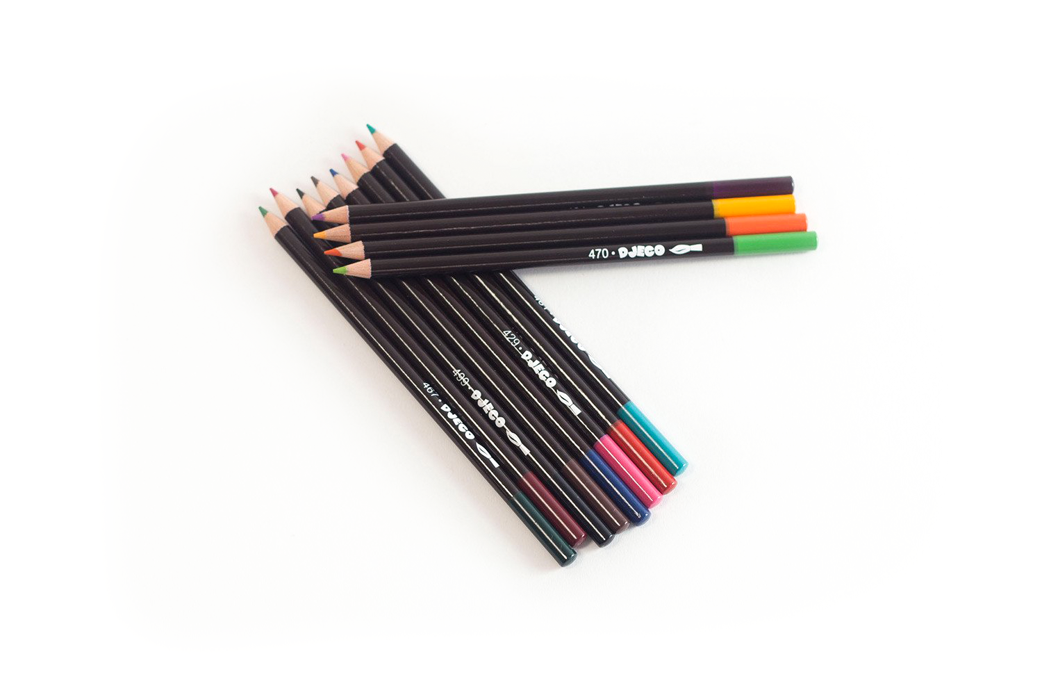 Set of 12 Watercolour Pencils