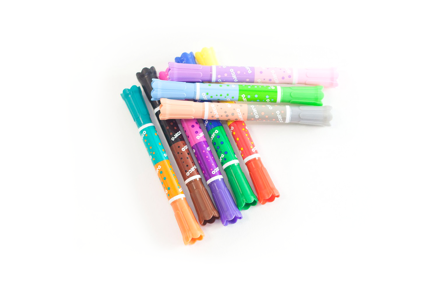 Set of 8 Twin Washable Markers