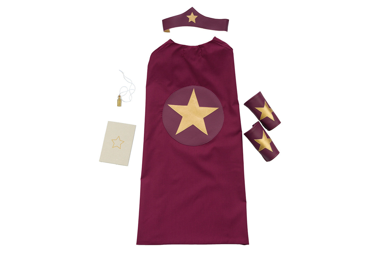 Superhero Kit - Maroon | Maggie & Rose at Home