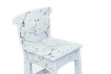 The Mini Me Dining Chair in Grey Splat