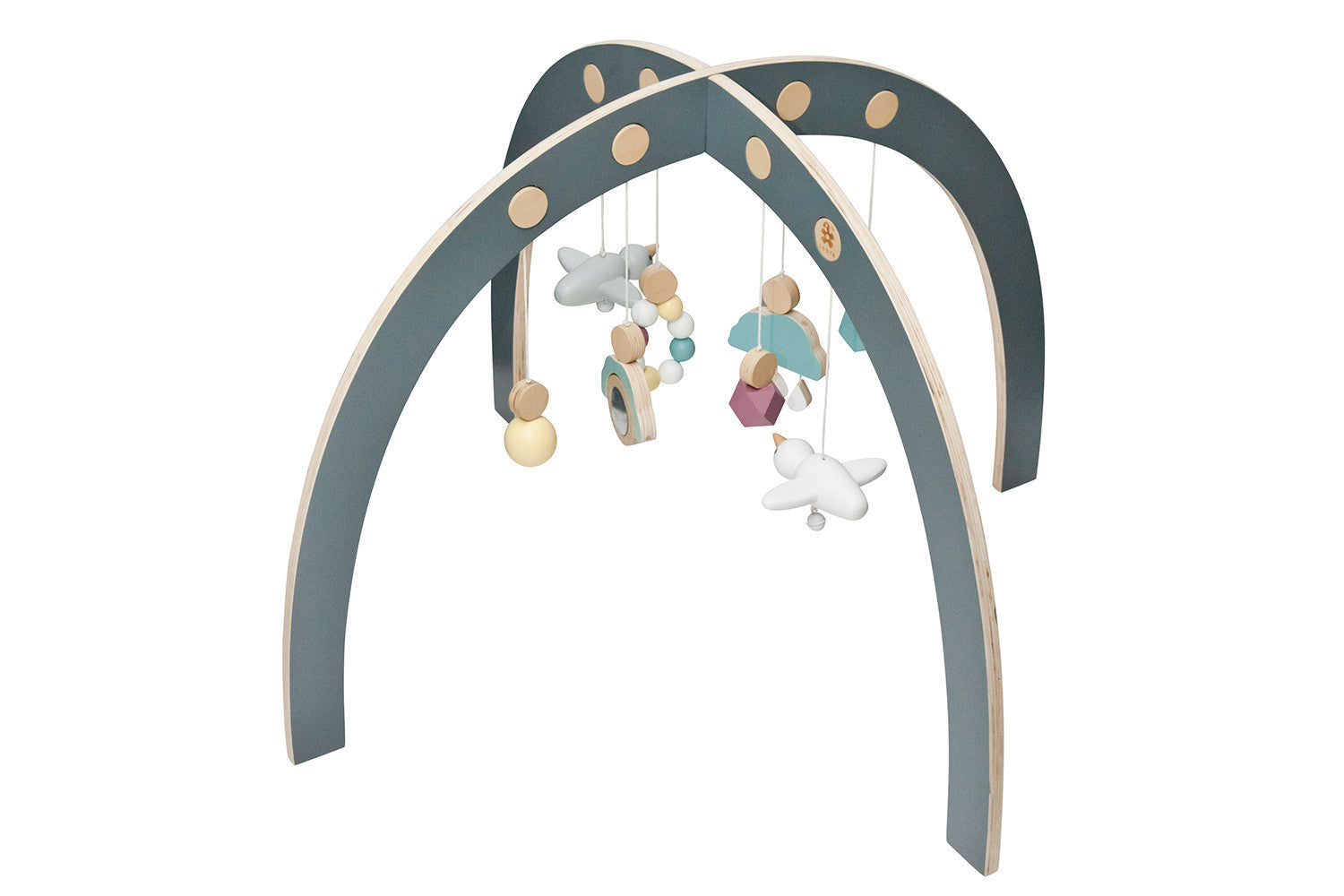 Wooden Baby Gym | Maggie & Rose at Home