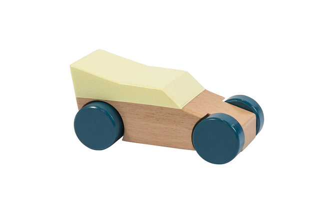 Wooden Race Car in Yellow | Maggie & Rose at Home