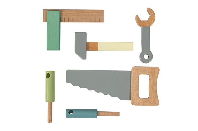 Wooden Tool Set | Maggie & Rose at Home