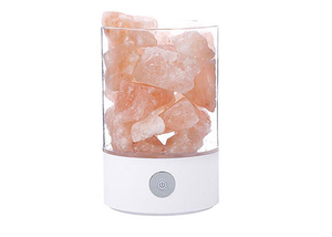 Modern Himalayan Salt Lamp - USB Powered