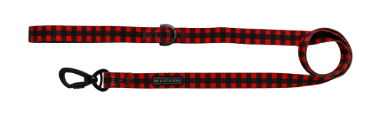 DOG LEASH PLAID TO THE BONE