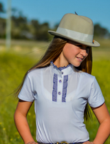 Childrens Ruffle Shirt