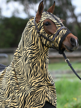 Earlwood Tiger Print Hood PULL ON