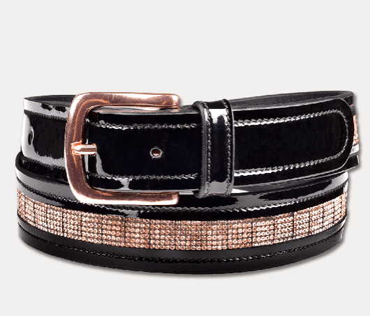 ELT Rose Gold Leather Belt
