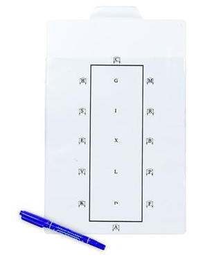 Learner Dressage Board with Pen