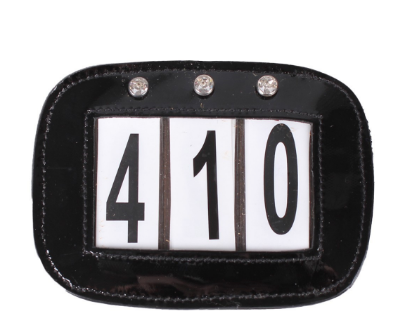 QHP Bling Number Holder