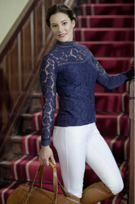 HKM Competition Lace Longsleeve Shirt