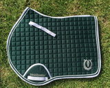 Hunter green jump pad