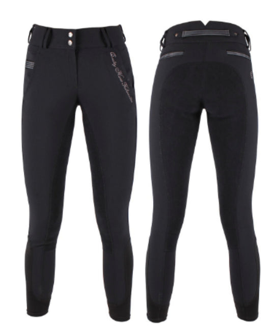 QHP Liz leather seat breeches