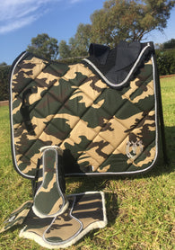 Complete camo dressage set