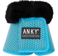 Anky SS20 Bell Boots Lagoon with fur