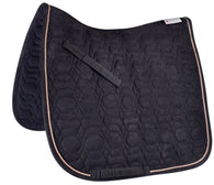 Waldhausen Black and rose gold dressage pad