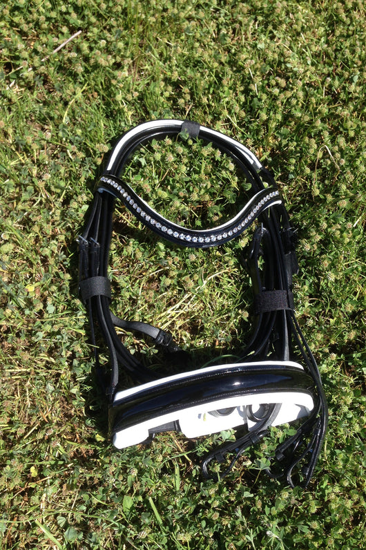 Mono crown DOUBLE bridle