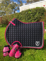 Black with hot pink trim Jump /AP Pad