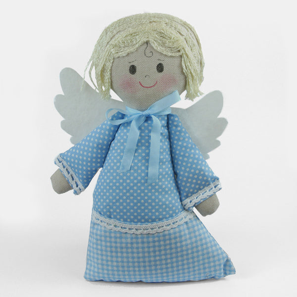 Decorative Hand-Made Textile Angel - Vintage Style