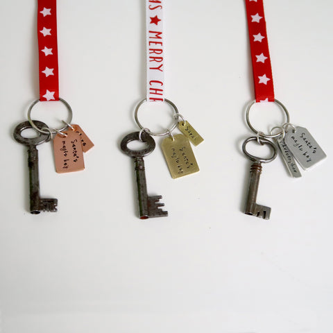 personalised santa magic keys