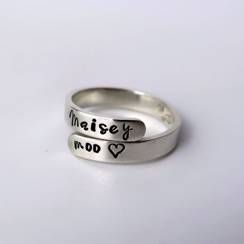 Sterling Silver Wrap Ring