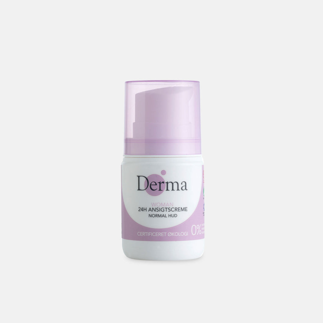Derma Eco Woman 24H Ansigtscreme Normal Hud