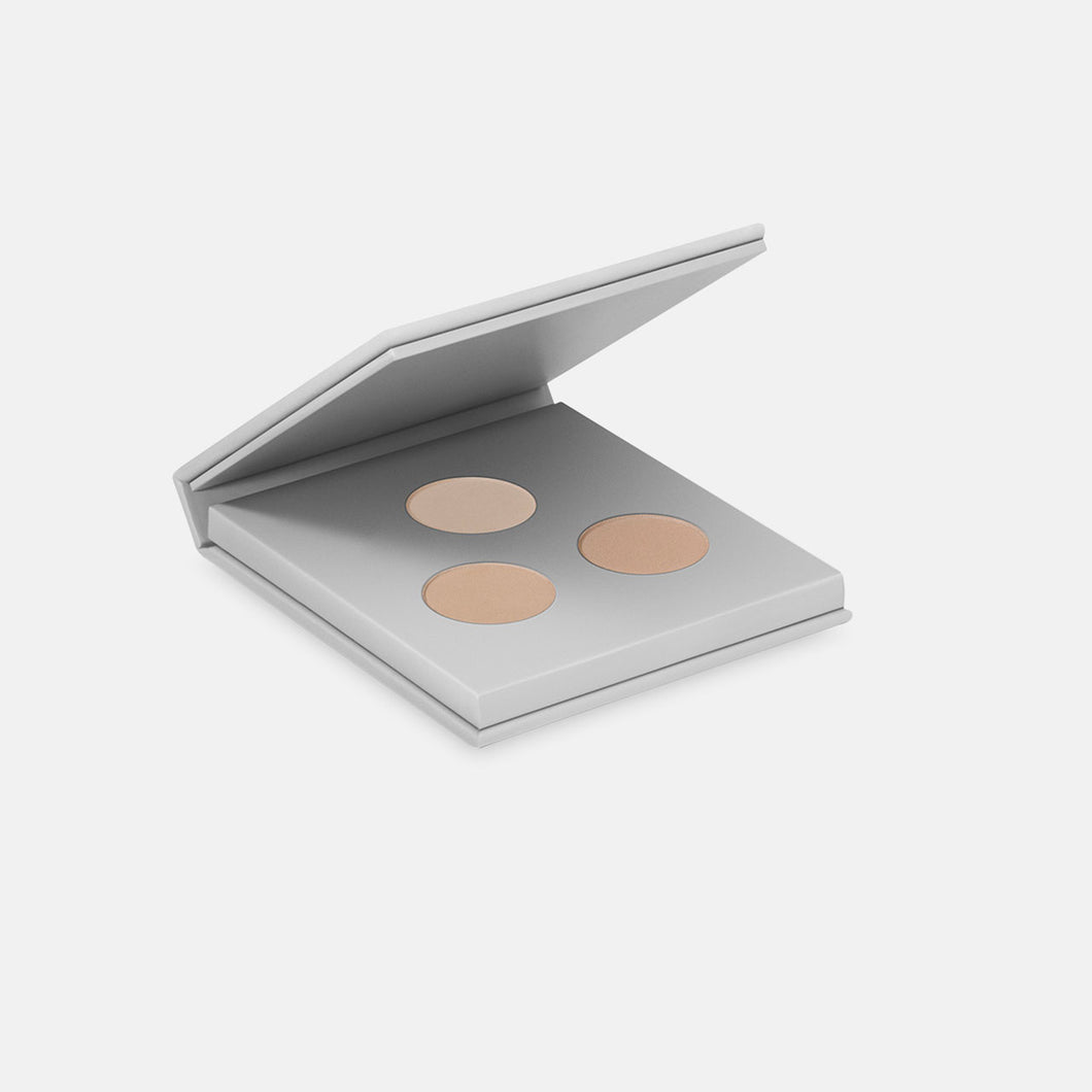 Miild Organic Mineral Eyeshadow/Eyebrow Kit - 01 Light Earth