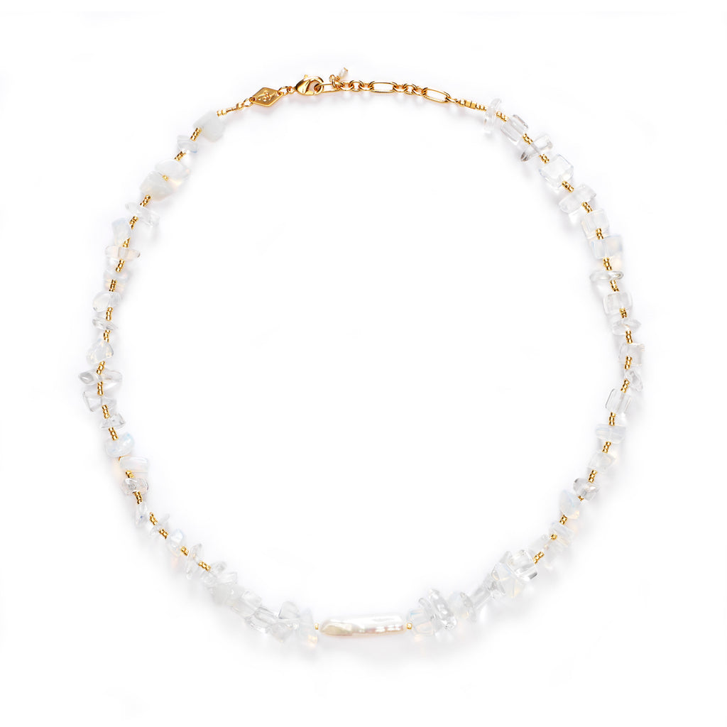 Ines Necklace - Ice Crystal