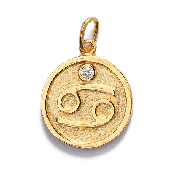 Star Sign Pendants // Gold