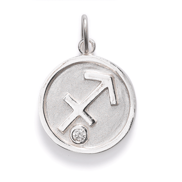 Star Sign Pendants // Silver