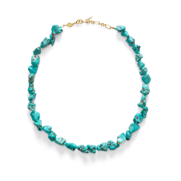 Beach Cocktail Necklace - Aqua