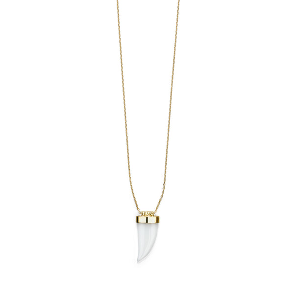Jaws Small Wave Necklace