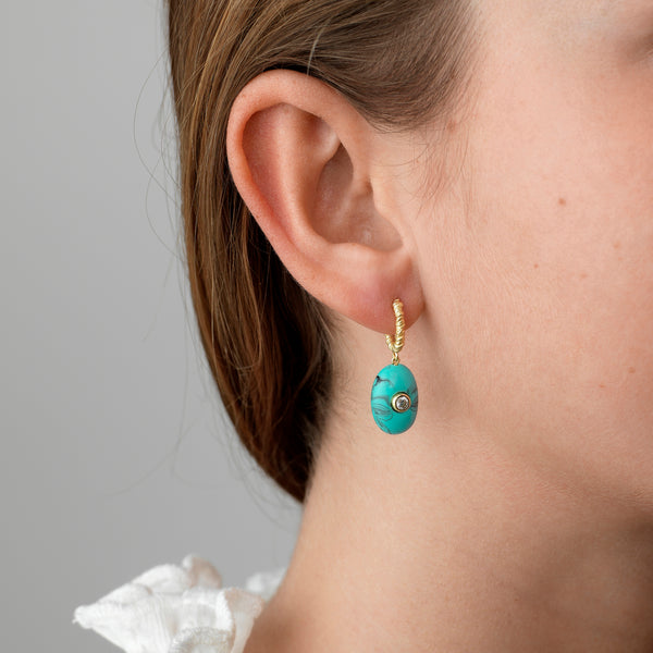 Pebble Beach Earrings