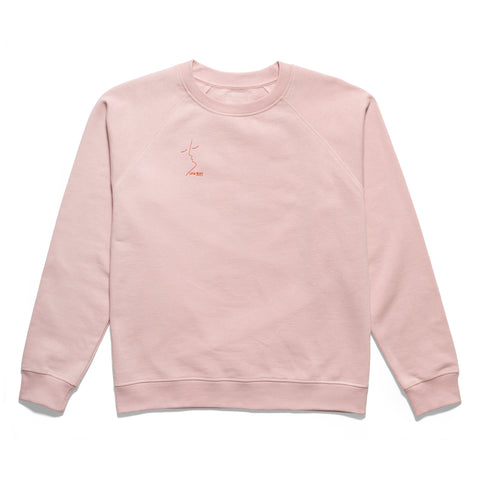 Courtney Sweatshirt // Peachskin