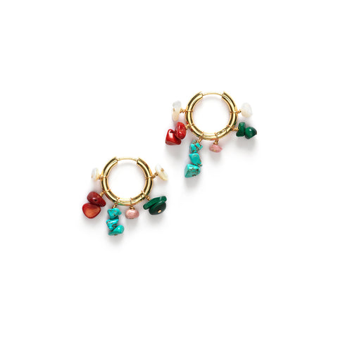 Carine Hoop Earrings