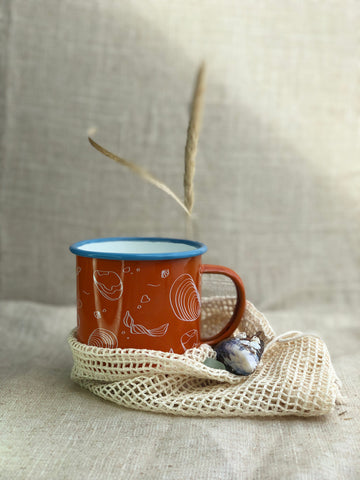 Cloudy Bay Enamel Mug