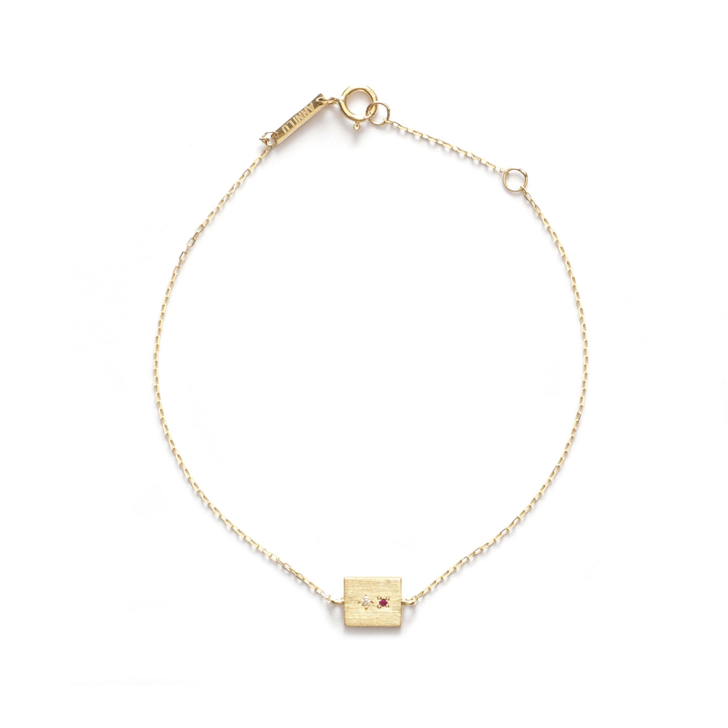 Heartline 14-karat yellow gold Bracelet