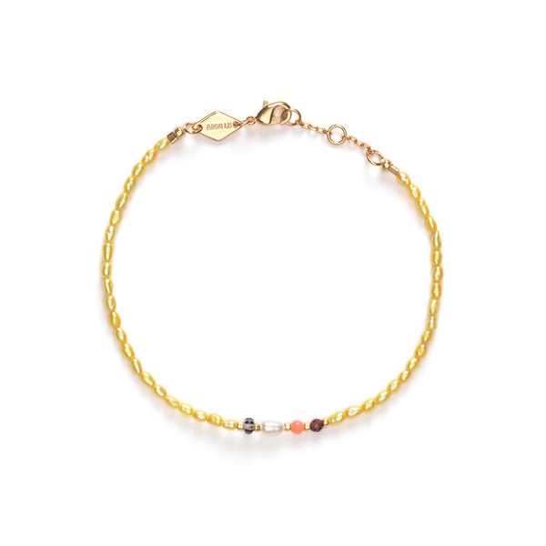 Rice & Shine Bracelet Yellow Cream